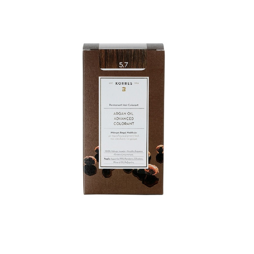 Korres Argan Oil Advanced Colorant Βαφή Μαλλιών