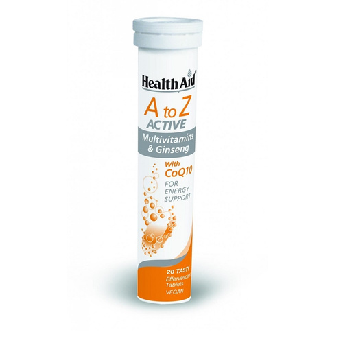 Health Aid A-Z Active Tutti Fruti 20 Αναβράζοντα Δισκία