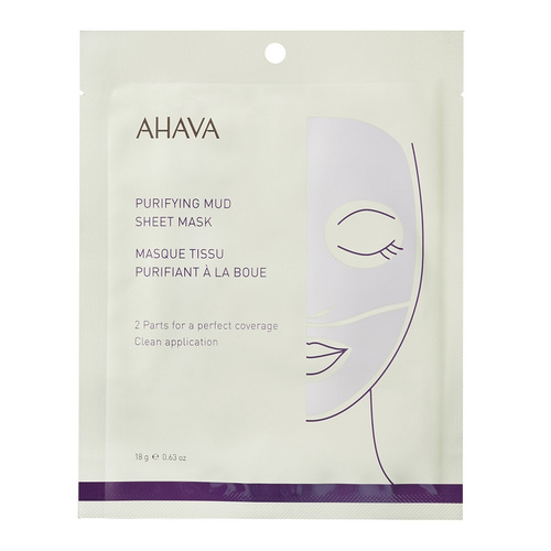 Ahava Time to Clear Purifying Mud Sheet Mask 18g