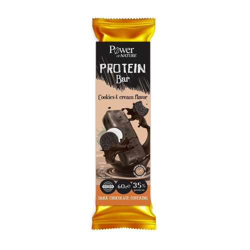 Power Health Power of Nature Protein Bar Cookies & Cream 60gr