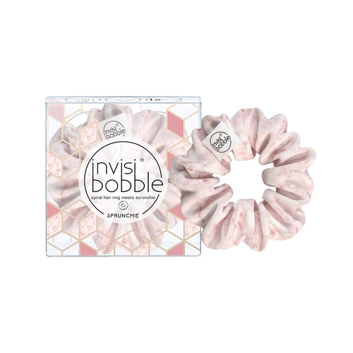 Invisibobble Λαστιχάκια Μαλλιών Sprunchie Marblelous Natural Light Pink 1τμχ