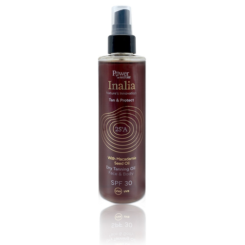Inalia Dry Tanning Oil Face & Body SPF30 200ml