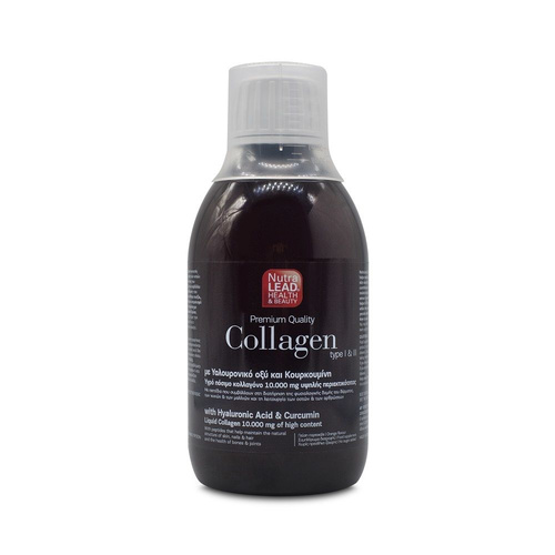 NutraLead Premium Quality Collagen Type I & II Υγρό Πόσιμο Κολλαγόνο 300ml