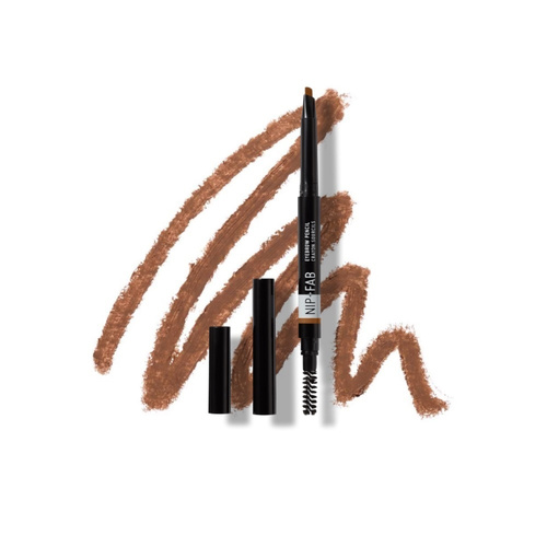 Nip+Fab Eyebrow Pencil Brown 02 Μολύβι Ματιών 0,25gr