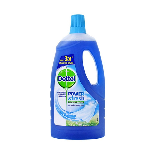 Dettol Complete Clean Atlantic Fresh Απολυμαντικό Υγρό 1000ml