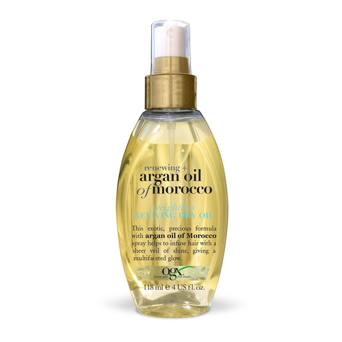 OGX Argan Oil of Morocco Oil Spray Αναδόμησης 118ml
