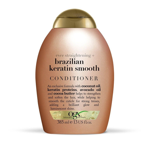 OGX Brazilian Keratin Therapy Conditioner Λείανσης 385ml