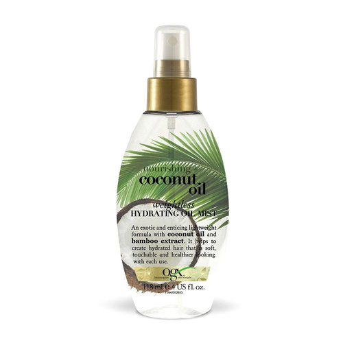 OGX Coconut Milk Weightless Hydrating Oil Mist Θρέψης 118ml