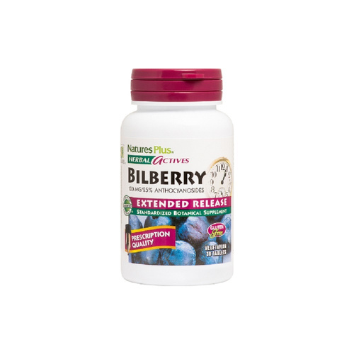 Nature's Plus Bilberry Extended Release 600mg 30tabs