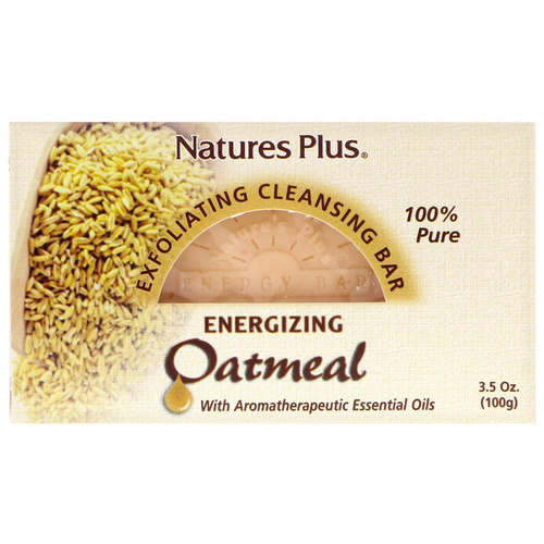 Nature's Plus Oatmeail Cleansing Exfoliating Bar 100gr