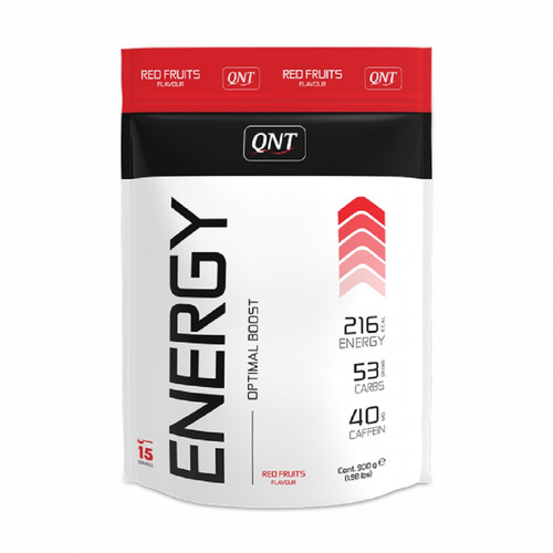 Qnt Energy Powder Red Fruits 900gr