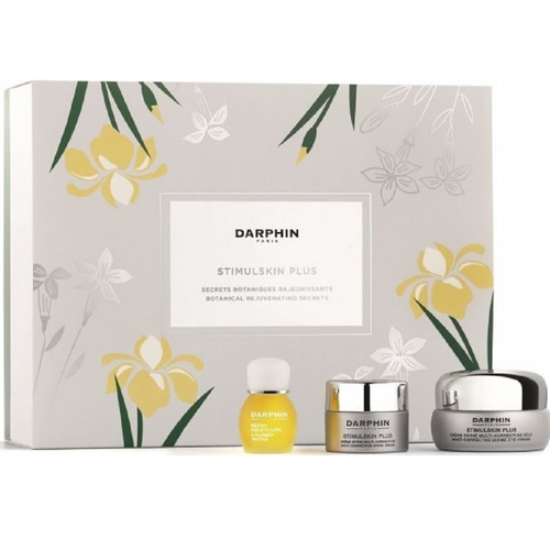 Darphin Promo Stimulskin Plus Botanical Rejuvenating Secrets - Multi-corrective Divine Eye Cream 15ml & Absolute Renewal Cream - Normal to Dry Skin 5ml & 8-Flower Oil Nectar 4ml