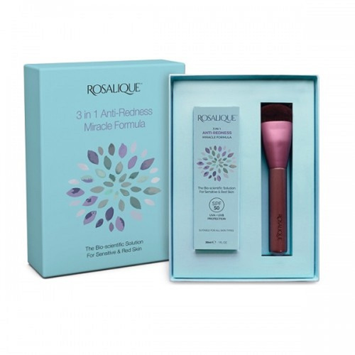 Mey Promo Rosalique 3 in 1 Anti-Redness Miracle Formula SPF50 30ml & Δώρο Πινέλο Make-Up