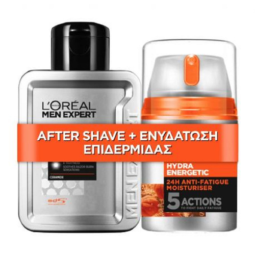 Loreal Paris Promo Promo Men Expert Hydra Energetic After Shave & Ενυδάτωση