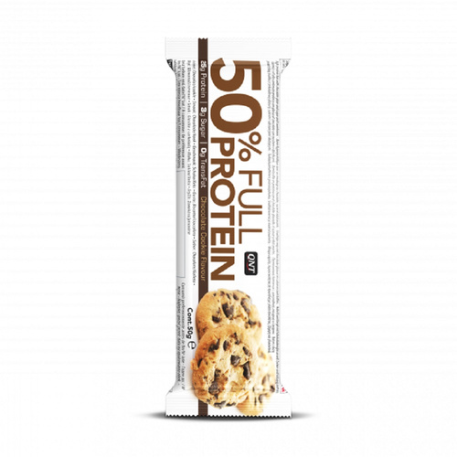 Qnt 50% Full Protein Bar Chocolate Cookie 50gr